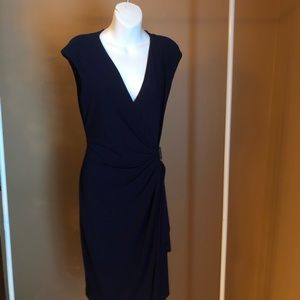 American living navy blue semi formal dress